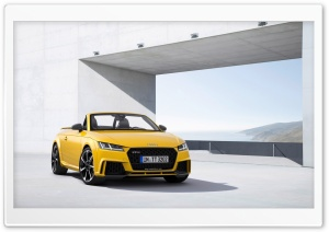 2017 Audi TT RS Roadster HD Wide Wallpaper for Widescreen