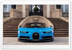 2017 Bugatti Chiron Geneva Auto Show HD Wide Wallpaper for Widescreen