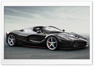 2017 Ferrari LaFerrari Spider HD Wide Wallpaper for Widescreen