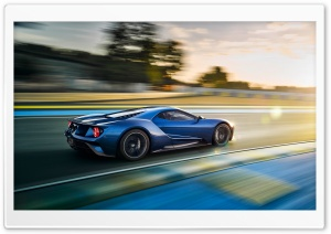 2017 Ford GT HD Wide Wallpaper for Widescreen