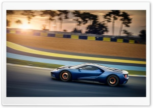 2017 Ford GT HD Wide Wallpaper for 4K UHD Widescreen desktop & smartphone
