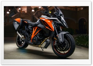 2017 KTM 1290 Super Duke GT HD Wide Wallpaper for Widescreen