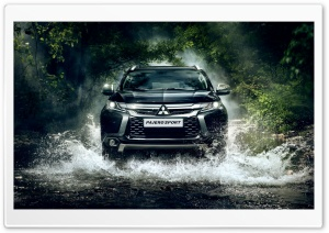 2017 Mitsubishi Pajero Sport HD Wide Wallpaper for Widescreen