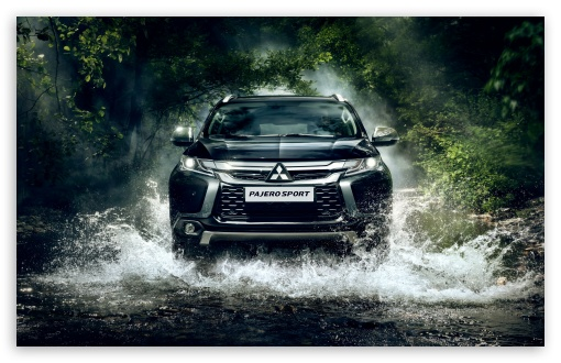 Download 2017 Mitsubishi Pajero Sport HD Wallpaper
