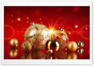 2017 New Year Decoration HD Wide Wallpaper for Widescreen