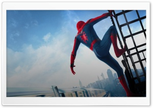 2017 Spider-Man Homecoming Movie HD Wide Wallpaper for Widescreen