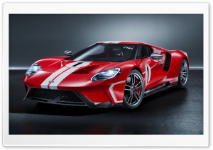2018 Ford GT 1967 Heritage edition HD Wide Wallpaper for 4K UHD Widescreen desktop & smartphone