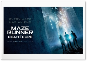 2018 Maze Runner The Death Cure HD Wide Wallpaper for 4K UHD Widescreen desktop & smartphone