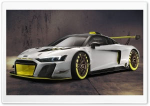 2019 Audi R8 LMS GT2 Sports Car Ultra HD Wallpaper for 4K UHD Widescreen desktop, tablet & smartphone