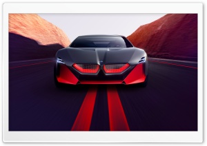 2019 BMW Vision M NEXT Sports Car, Road HD Wide Wallpaper for 4K UHD Widescreen desktop & smartphone