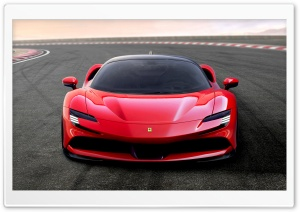 2019 Ferrari SF90 Stradale PHEV Sports Car Ultra HD Wallpaper for 4K UHD Widescreen desktop, tablet & smartphone