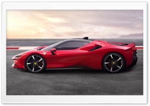 2019 Ferrari SF90 Stradale Sports Car Ultra HD Wallpaper for 4K UHD Widescreen desktop, tablet & smartphone