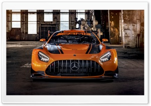 2019 Mercedes AMG GT3 Sports Car Ultra HD Wallpaper for 4K UHD Widescreen desktop, tablet & smartphone
