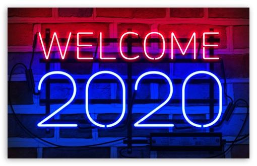 2020 New Year Ultra Hd Desktop Background Wallpaper For 4k