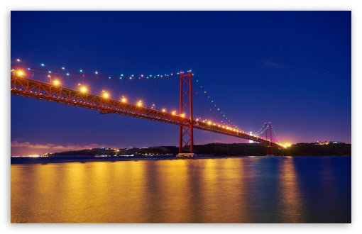 25 de Abril Bridge, Night, Tagus River, Portugal ❤ 4K UHD Wallpaper for Wide 16:10 5:3 Widescreen WHXGA WQXGA WUXGA WXGA WGA ; UltraWide 21:9 24:10 ; 4K UHD 16:9 Ultra High Definition 2160p 1440p 1080p 900p 720p ; UHD 16:9 2160p 1440p 1080p 900p 720p ; Standard 4:3 5:4 3:2 Fullscreen UXGA XGA SVGA QSXGA SXGA DVGA HVGA HQVGA ( Apple PowerBook G4 iPhone 4 3G 3GS iPod Touch ) ; Smartphone 16:9 3:2 5:3 2160p 1440p 1080p 900p 720p DVGA HVGA HQVGA ( Apple PowerBook G4 iPhone 4 3G 3GS iPod Touch ) WGA ; Tablet 1:1 ; iPad 1/2/Mini ; Mobile 4:3 5:3 3:2 16:9 5:4 - UXGA XGA SVGA WGA DVGA HVGA HQVGA ( Apple PowerBook G4 iPhone 4 3G 3GS iPod Touch ) 2160p 1440p 1080p 900p 720p QSXGA SXGA ;
