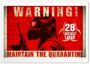 28 Weeks Later Movie Ultra HD Wallpaper for 4K UHD Widescreen desktop, tablet & smartphone