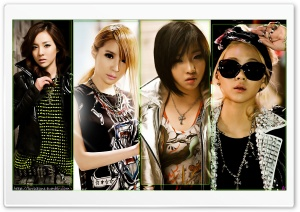 2NE1 HD Wide Wallpaper for Widescreen