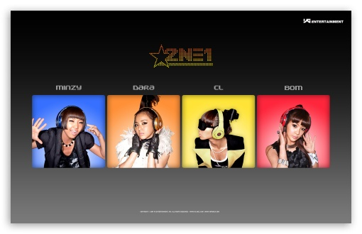 2NE1 - Minzy, Dara, CL, Bom HD wallpaper for Wide 16:10 5:3 Widescreen WHXGA WQXGA WUXGA WXGA WGA ; Mobile 5:3 - WGA ;
