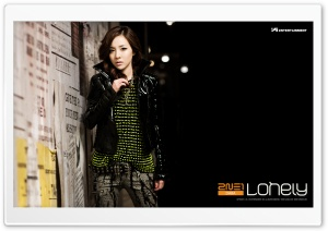 2NE1 Lonely HD Wide Wallpaper for 4K UHD Widescreen desktop & smartphone