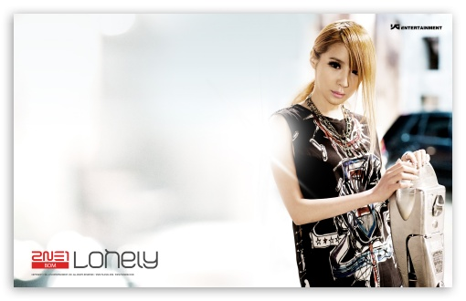 2NE1 Lonely HD wallpaper for Wide 16:10 5:3 Widescreen WHXGA WQXGA WUXGA WXGA WGA ; Mobile 5:3 - WGA ;