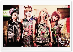 2NE1 Ugly HD Wide Wallpaper for Widescreen