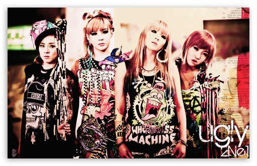 2NE1 Ugly HD wallpaper for Wide 16:10 5:3 Widescreen WHXGA WQXGA WUXGA WXGA WGA ; HD 16:9 High Definition WQHD QWXGA 1080p 900p 720p QHD nHD ; Mobile 5:3 - WGA ;