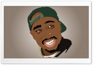 2Pac HD Wide Wallpaper for Widescreen