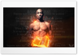 2Pac-HD Wallpaper by Chaker Design HD Wide Wallpaper for Widescreen