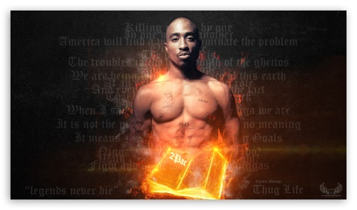 2Pac-HD Wallpaper by Chaker Design HD wallpaper for HD 16:9 High Definition WQHD QWXGA 1080p 900p 720p QHD nHD ; Mobile 5:3 3:2 16:9 - WGA DVGA HVGA HQVGA devices ( Apple PowerBook G4 iPhone 4 3G 3GS iPod Touch ) WQHD QWXGA 1080p 900p 720p QHD nHD ;