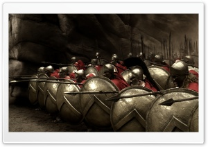 300 Spartans HD Wide Wallpaper for Widescreen