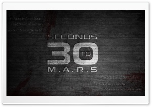30 Seconds To Mars Ultra HD Wallpaper for 4K UHD Widescreen desktop, tablet & smartphone