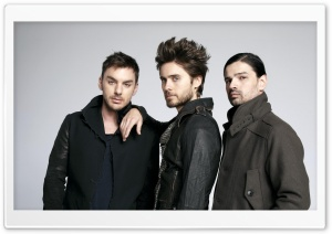30 Seconds to Mars HD Wide Wallpaper for Widescreen