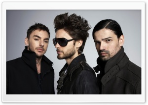 30 Seconds To Mars Band HD Wide Wallpaper for Widescreen