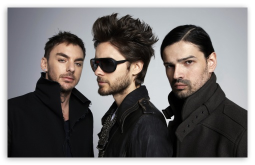 30 Seconds To Mars Band HD wallpaper for Wide 16:10 5:3 Widescreen WHXGA WQXGA WUXGA WXGA WGA ; HD 16:9 High Definition WQHD QWXGA 1080p 900p 720p QHD nHD ; UHD 16:9 WQHD QWXGA 1080p 900p 720p QHD nHD ; Standard 4:3 3:2 Fullscreen UXGA XGA SVGA DVGA HVGA HQVGA devices ( Apple PowerBook G4 iPhone 4 3G 3GS iPod Touch ) ; iPad 1/2/Mini ; Mobile 4:3 5:3 3:2 16:9 - UXGA XGA SVGA WGA DVGA HVGA HQVGA devices ( Apple PowerBook G4 iPhone 4 3G 3GS iPod Touch ) WQHD QWXGA 1080p 900p 720p QHD nHD ;