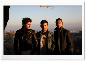 30 Seconds To Mars Band Outdoors HD Wide Wallpaper for Widescreen