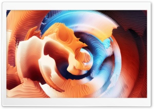 3D Abstract Broken Shell Ultra HD Wallpaper for 4K UHD Widescreen desktop, tablet & smartphone