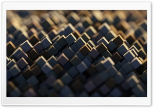 3D Abstract Cubes HD Wide Wallpaper for Widescreen