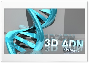 3D ADN HD Wide Wallpaper for Widescreen