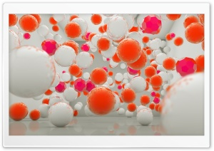 3D Balls HD Wide Wallpaper for Widescreen
