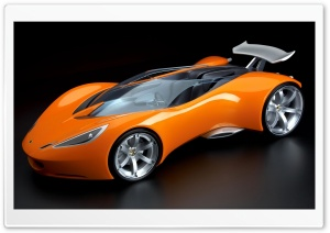 3D Cars 17 HD Wide Wallpaper for Widescreen
