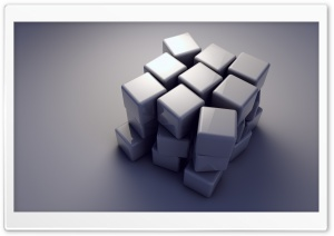 3D Cubes Ultra HD Wallpaper for 4K UHD Widescreen desktop, tablet & smartphone