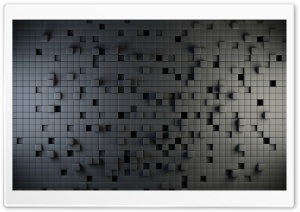 3D Cubes HD Wide Wallpaper for Widescreen