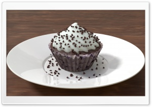 3D Cupcake HD Wide Wallpaper for 4K UHD Widescreen desktop & smartphone