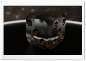 3D Dice 07 HD Wide Wallpaper for Widescreen