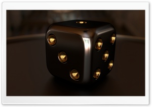 3D Dice 10 HD Wide Wallpaper for 4K UHD Widescreen desktop & smartphone