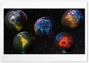 3D Earth Ultra HD Wallpaper for 4K UHD Widescreen desktop, tablet & smartphone