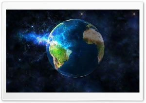 3D Earth Desktop Background HD Wide Wallpaper for Widescreen