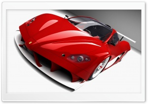 3D Ferrari Aurea Car Ultra HD Wallpaper for 4K UHD Widescreen desktop, tablet & smartphone