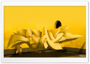 3D Graffiti Background HD Wide Wallpaper for 4K UHD Widescreen desktop & smartphone