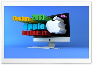3D iMac HD Wide Wallpaper for Widescreen
